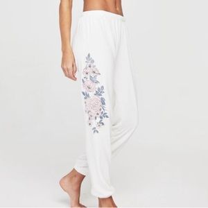 NWT spiritual gangster floral perfect sweatpants